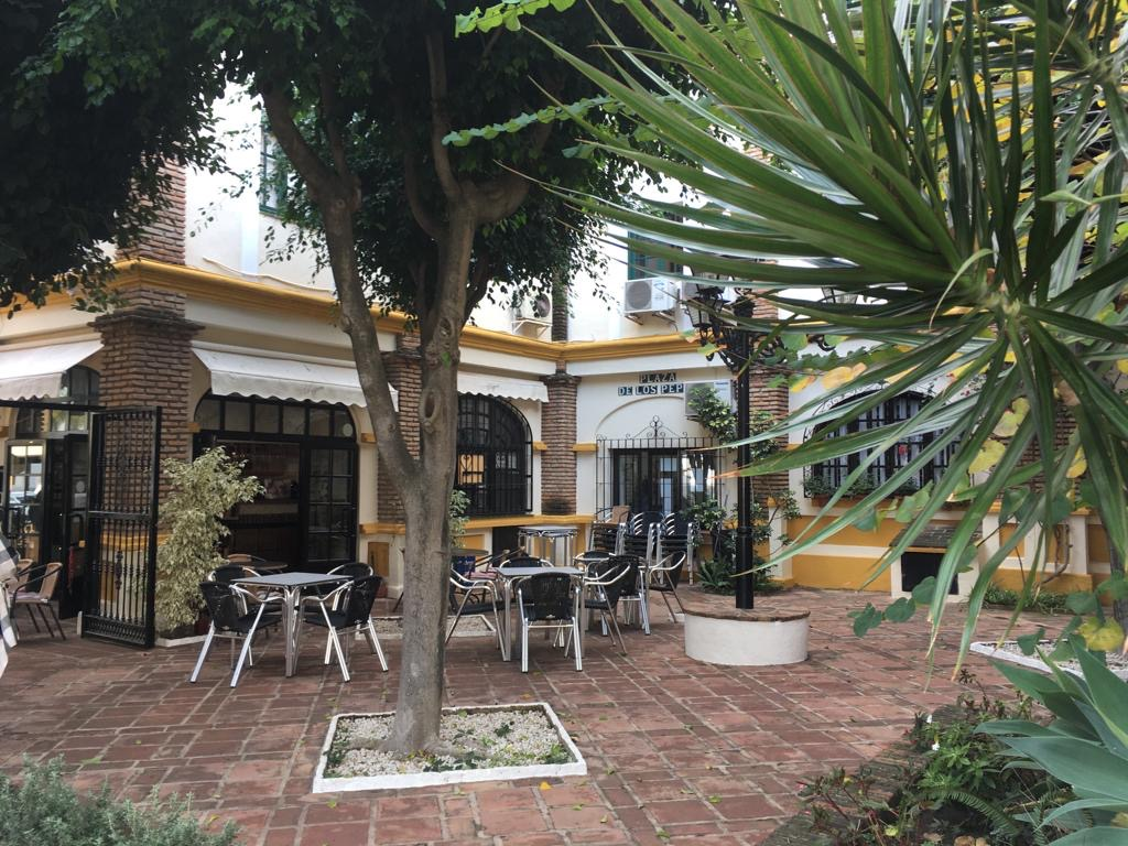 Cafe Bar in Puebla Lucia