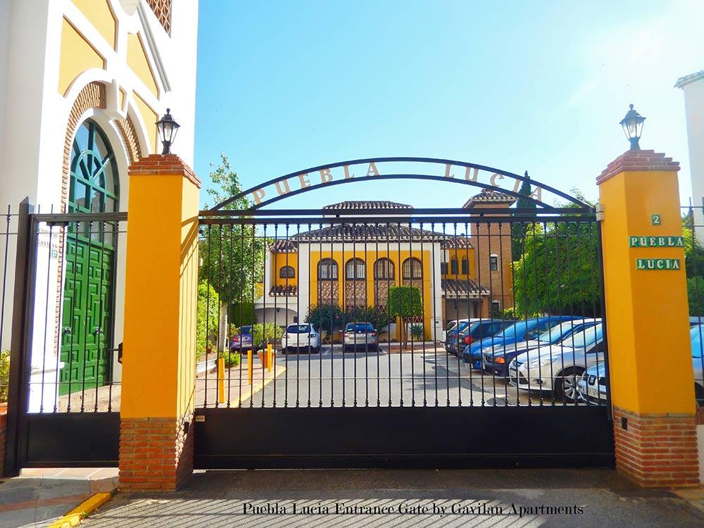 Puebla Lucia Gate by Gavilan